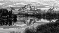Timeless Treasure - The Oxbow Bend (Jeff Clow) Tags: morning mountains snakeriver wyoming mountmoran tetons grandtetonnationalpark oxbowbend mtmoran jacksonholewyoming jeffrclow theadmirergroup