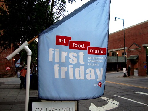 First Fridays in Downtown Raleigh