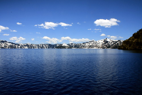 Crater Lake: Lake Level