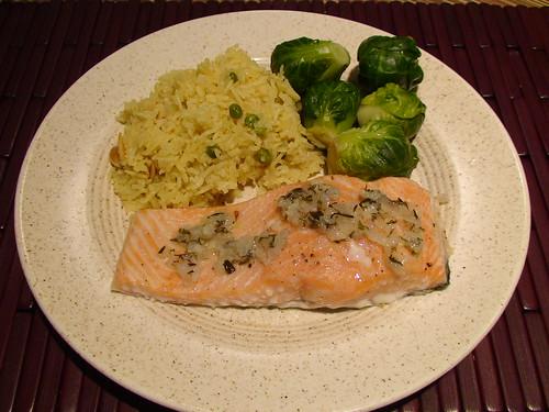 7/6/10 slow-roasted salmon