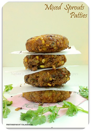 Mixed Sprouts Patties