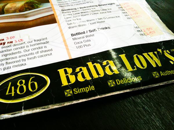 486 Baba Low's