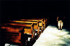 Into the darkness (ale2000) Tags: man guy love church bench lca xpro darkness cathedral kodak crossprocess faith pray christian chiesa uomo photowalk benches adore amore cristiano fede buio cattedrale tipo cattolico guercio sangiusto epr panche prega preghiere cattedraledisangiusto aledigangicom