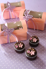 purple + butterflies (RATUkek) Tags: pink love cupcakes purple butterflies celebration weddings ratukek