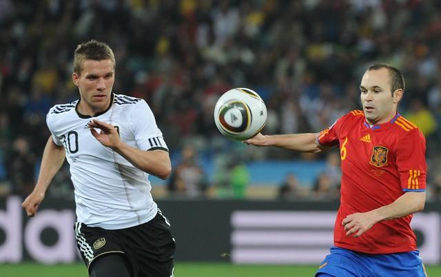 España Alemania Semifinal Mundial Andrés Iniesta