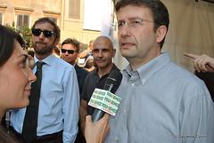 Manifestazione per la libert di informazione - No al bavaglio 6 (Dario Franceschini - galleria fotografica) Tags: libert dario franceschini intercettazioni informazione ddl nobavaglio