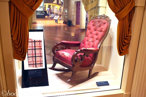 Abraham Lincoln's Chair from Ford Theater