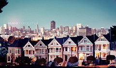 Won't you save me, San Francisco? (Jinna van Ringen) Tags: sanfrancisco city longexposure night vintage photography evening cityscape ringen retro explore elusive van alamo frontpage paintedladies alamosquare jorinde jinna ef70200mmf4lusm canoneos5dmarkii elusivephoto elusivephotography 5dmarkii jorindevanringen jinnavanringen