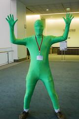 Green Man from It's Always Sunny in Philadelphia