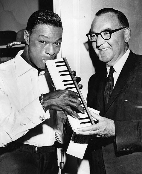 Nat King Cole and Gov Pat Brown
