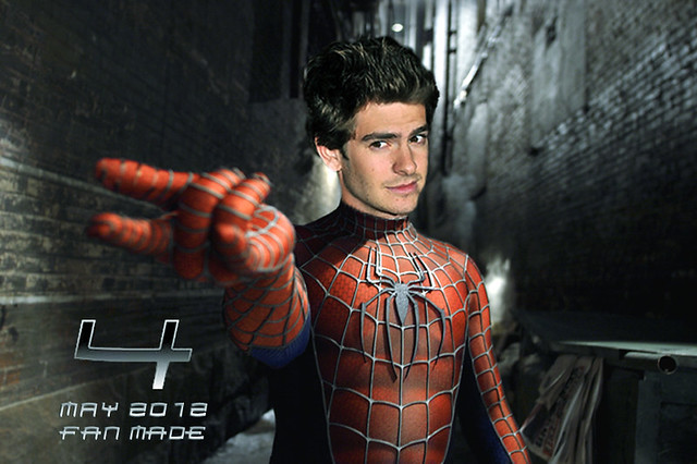Andrew Garfield previous Spider-Man suit