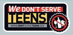 we don't serve teens