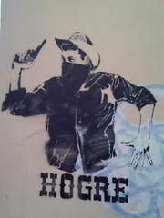 Bandido (Smeerch) Tags: street italy streetart stencils rome roma art cowboys stencil cowboy italia arte aerosolart bandido bandito bandidos pistolero artedistrada hogre
