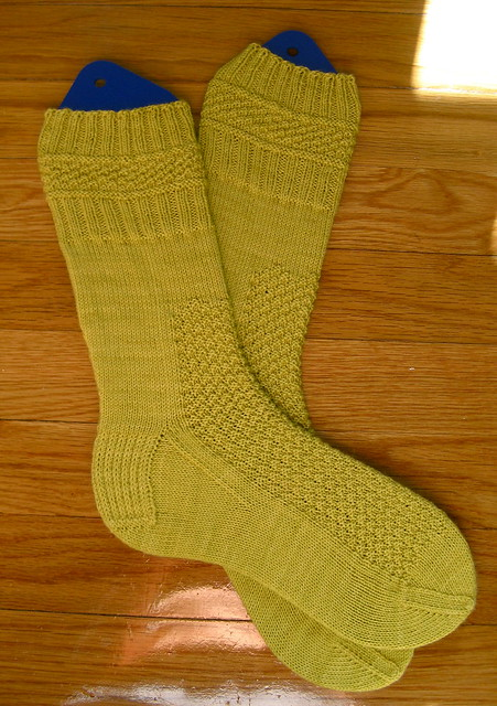 Little Yellow Big Girl's Socks