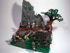 "The Project: ""Climbing to the Eagle's Nest"" (PhiMa') Tags: alps lego wwii ww2 eaglesnest worldwar2 secretbunker 101stairborne europeantheatre"