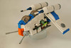 Lego Pocket Clone Gunship (WIP) (Simon T James) Tags: star lego cone wars gunship