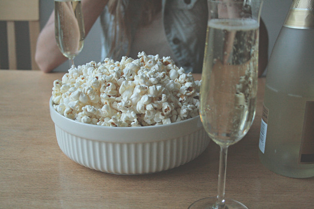 popcorn&shampanja