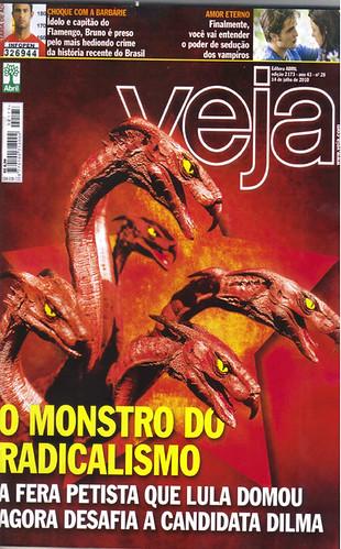 veja capa 2010