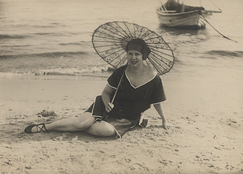 Beach Wear around 1900