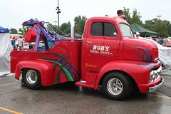 1951 Ford COE Tow Truck (osubuckialum) Tags: columbus ohio cars ford car truck cab over engine views oh custom nationals tow 1000 coe carshow towing 1951 2010 wrecker goodguys