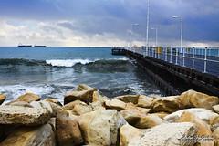 Lim Pier (Andreas Hadjiandonis) Tags: sea pier rocks waves cyprus hdr limassol naturesfinest theglobal lemesos colorphotoaward cyprusplaces hadjiandonis