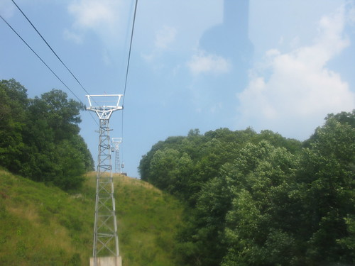 Tram to Mountain Creek Lodge by wittenbarbara.
