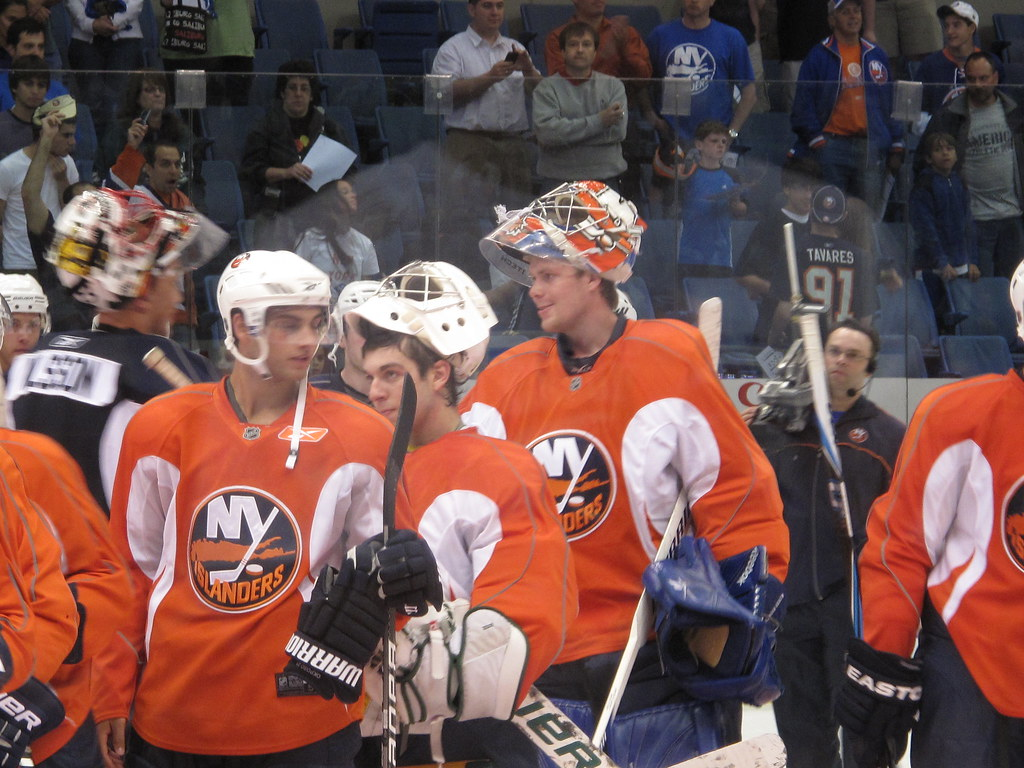 Islanders Orange vs Blue Scrimmage 7/10/10