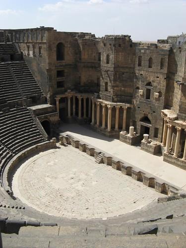 Anfiteatro romano e Bosra, Síria