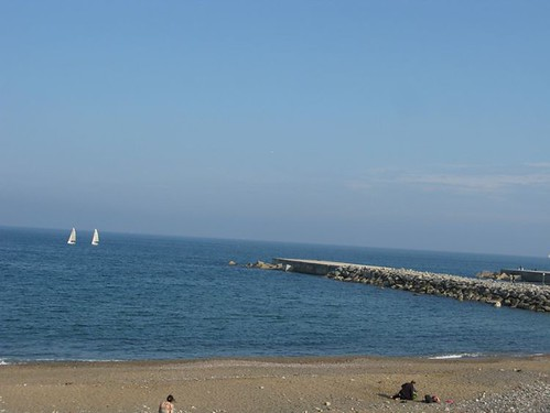 barcelona beach 002
