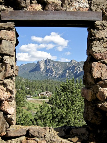 Framed Rockies