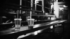 just the two of us 1 (liver1223) Tags: china street city urban blackandwhite bw night pen dark lens hongkong photo shot snapshot highcontrast olympus cine snap greater nightlife causewaybay mid 25mm ep2 angenieux f095 blackwhitephotos cmount