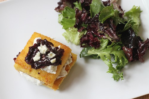 polenta napoleons