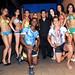 """JOHN VARGAS, el pintor de los cuerpos humanos, presentó su show """"Body Paint"""" dedicado a la final del campeonato mundial, este evento se realizó en Sabor Latino Restaurant."""