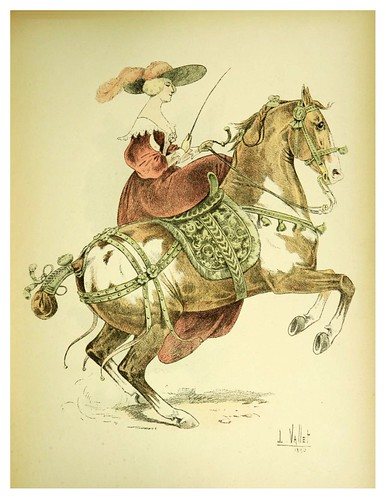 014-Marquesa de Newcastle-Le chic à cheval histoire pittoresque de l'équitation 1891- Louis Vallet