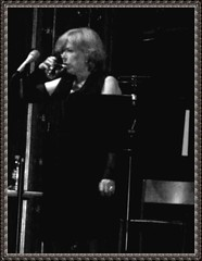 A glass of water [Marianne Faithfull] (Nin) Tags: music concert sweden stockholm berns mariannefaithfull lastfm:event=1527560