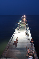 The Pier At Dust (Juggler Jim) Tags: night picturethis