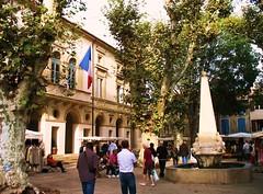 Wool Market, St-Remy-de-Provence (c2010 FK Benfield)