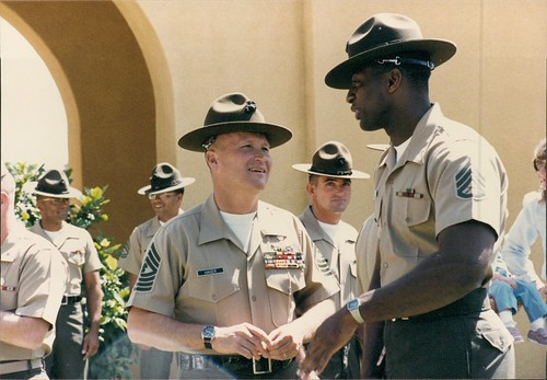 marine corps drill instructors