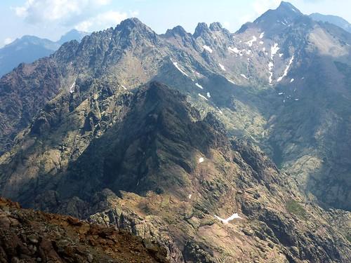 Paglia Orba par Foggiale : au sommet, Grande Barrière, Punta Minuta, Cintu