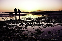 In my shot (Through Bri`s Lens) Tags: sunset worthing lowtide suussex