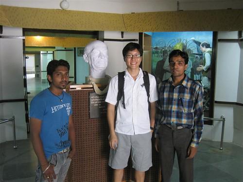 yogesh's friend, me, and yogeshbhai