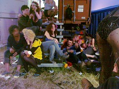 28062010108 (gavs_pics) Tags: disco group glastonbury dressing tranny trailer 2010 festivalglastonbury