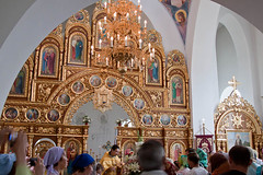 Interior of St. Michael's - Yalta (wombatdno) Tags: church ukraine yalta blacksea