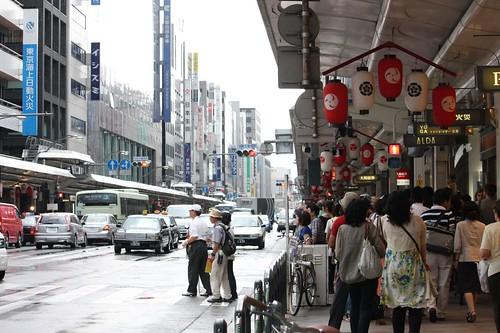 Rainy Shijo Kawaramachi