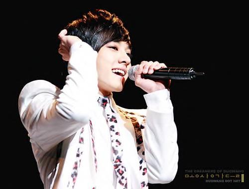 Gi Kwang Singing