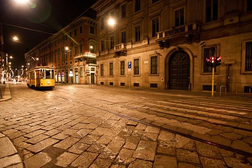 Tram in Montenapoleone