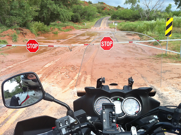 Floods in Palo Duro Canyon