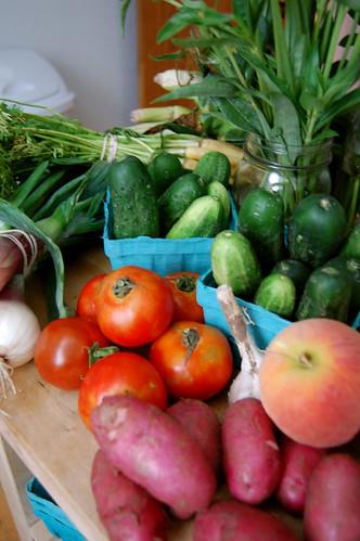 Farmer's Market week 8