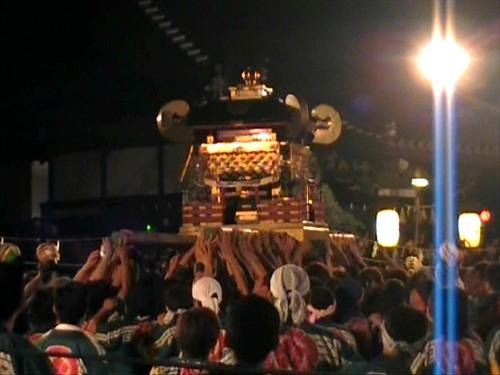 祇園祭 2010 福山 神輿が入場 画像