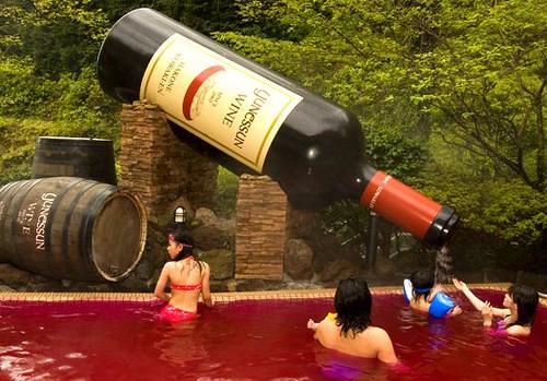 Wine Spa Japan